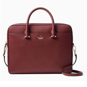 Arriving tomorrow! Kate Spade Leather laptop bag